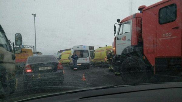 Авария на Гостомельском шоссе