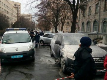 Расстрел адвоката в Киеве
