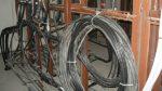 В Химках неизвестный выкрал три катушки кабеля правительственной связи