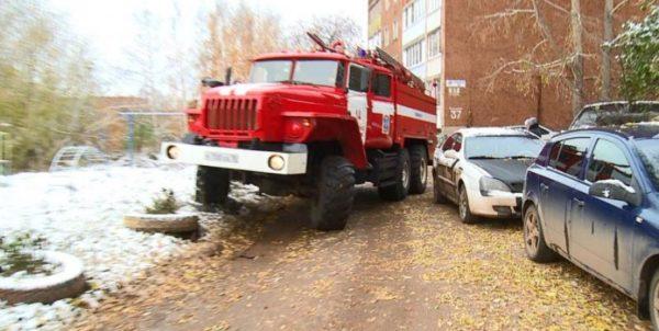таранить машины во дворах