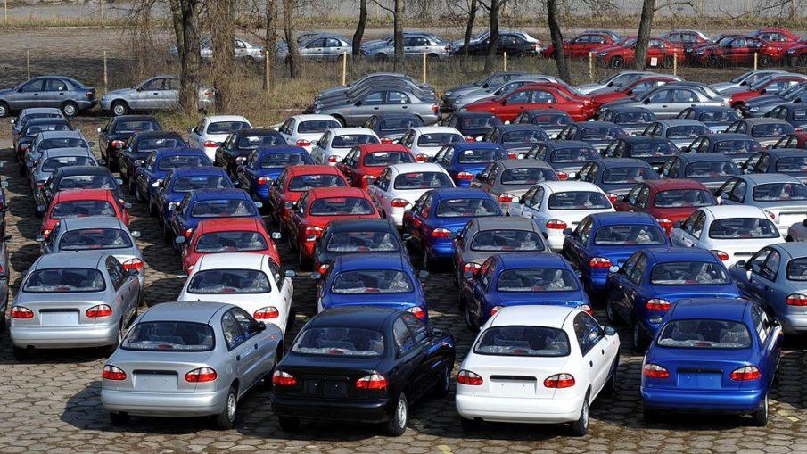продажи российских авто