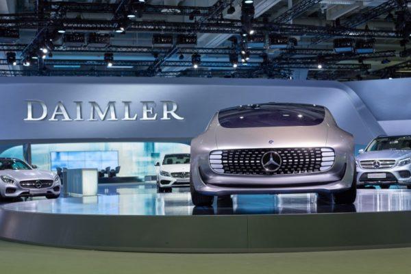 Daimler будет строить Mercedes