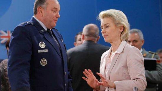 Федеральный министр обороны Германии