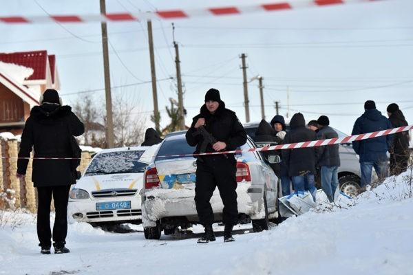 Кровавая перестрелка под Киевом