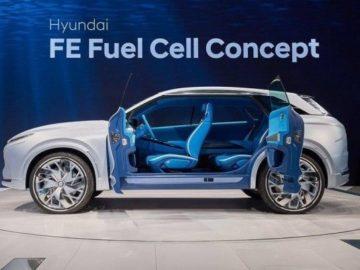 Hyundai FE на водороде
