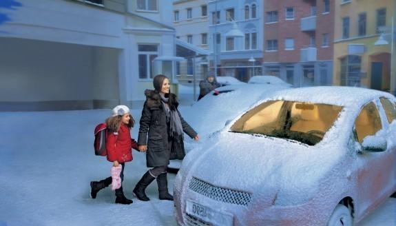 В каких машинах зимой теплее