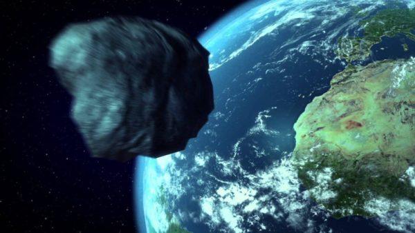 разрушительная «космическая скала»