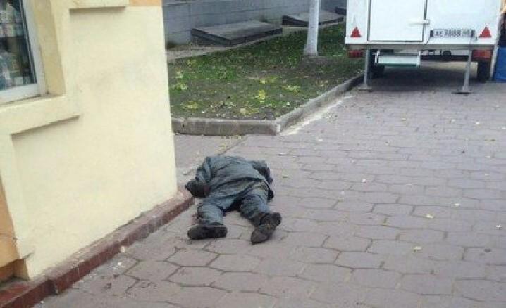 бездомный зарезал пенсионера