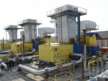 в подземных хранилищах газа Украины