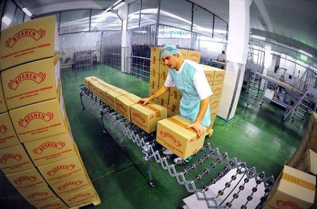 кондитерская фабрика Roshen
