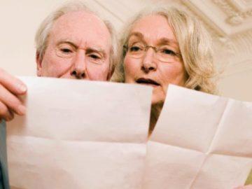 средний размер пенсий