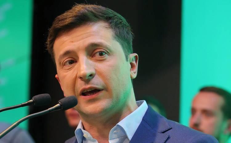 Новоизбранный президент Владимир Зеленский