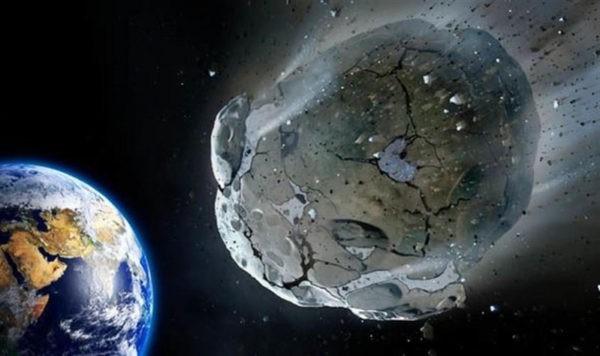мимо Земли пролетит гигантский астероид