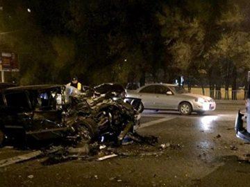 повреждения получили семь автомобилей