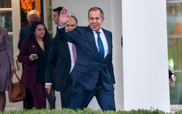 переговоры президента США Дональда Трампа и министра иностранных дел России Сергея Лаврова