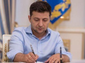 Президент Владимир Зеленский подписал законопроект №2300