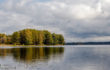 озеро с первобытной водой